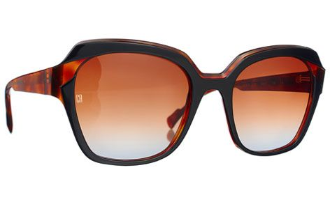 women glasses brown