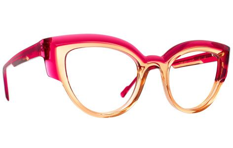 pink women glasses